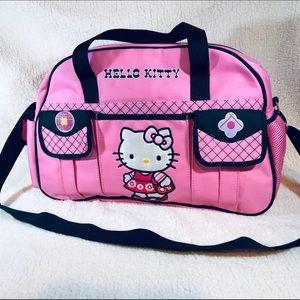 Pink Sanrio Hello Kitty Diaper Bag